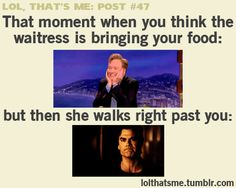 That Moment When You Think ...