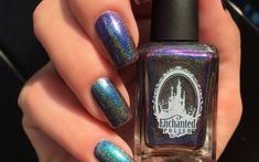 Enchanting Nail Polish That Adds A Pop Of Color to DisneyBounding Disney Inspired Nails, Disney Nails, Disney And More, Disney Outfits, Disneybound, Disney Style, Color Pop, Nail Polish, Disney Clothes