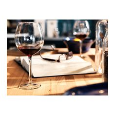 HEDERLIG Red wine glass IKEA Extra large cup helps retain the aroma.