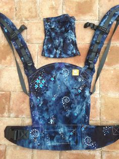 Custom Dyed Tula Baby Carrier by AllDyesOnYou on Etsy