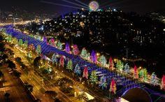 December in Medellin, Col