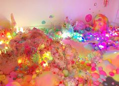 This amazing art installation is basically a candy land