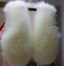 Winter Korean female short artificial fox fur vest waistcoat fur women coat woman clothes winter jacket women casacos femininos(China (Mainland))
