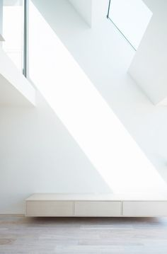 pitched roof + skylights