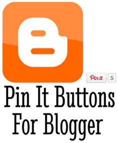pin it buttons for blogger #blogger   #pinterestbutton