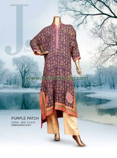 Junaid Jamshed Winter Collection 2013-2014 For Women