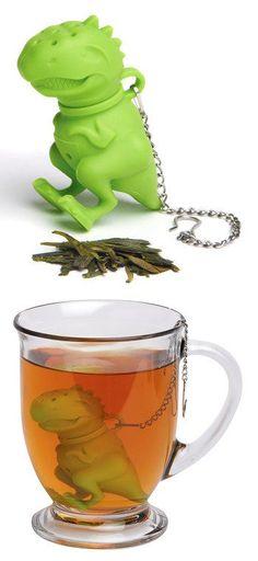 Green Dino Tea Infuser