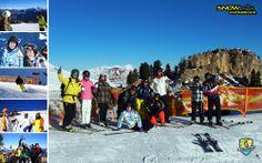 Mayrhofen tijdens de Zillertal Super Skisafari 2014 #penkenbahn #hippach #Harakiri