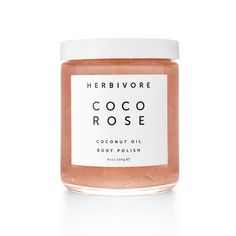 Virgin coconut oil and delicately floral Moroccan rose petals subtly scent and fully moisturize your skin as exfoliating sugar crystals smooth and soften....