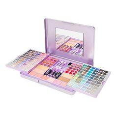 Metallic Purple Sliding Makeup Set