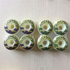 4 개/대 프로 스케이트 element/푸시 스케이트 보드 바퀴 52 미리메터 pu 바퀴 스케이트 보드 갑판 보드