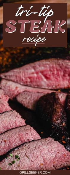 The tri-tip steak recipe I'm sharing is very basic and straightforward. Anyone new to grilling can do this, and the old pros love it as well. But first, I'm going to answer a few common questions about tri-tip, then I'll go over a few tips for cooking tri-tip, and then we'll get into the recipe. Barbecue Grill, Grilling, Tri Tip Steak Recipes, Stolen Recipe, Cooking Tri Tip, How To Cook Steak, Prime Rib, Sous Vide, Original Recipe