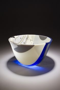 Bring in the Clouds 4 in hand-made glass by Silvano Ferrario