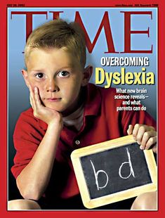 """TIME Magazine Cover: Overcoming Dyslexia -- July 2003 """"The majority of students who get identified with learning disorders get identified between the ages of 11 and Robert Pasternack, assistant secretary for Special Education and Rehabilitative Services. Dyslexia Teaching, Teaching Reading, Dyslexia Strategies, Dyscalculia, Reading Intervention, School Psychology, Learning Disabilities, Disability, Special Education"""