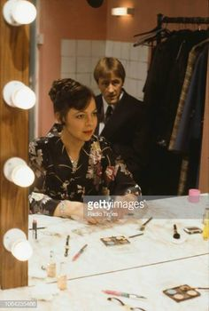 Actors Tessa PeakeJones and Nicholas Lyndhurst in a scene from episode 'Stage Fright' of the BBC Television sitcom 'Only Fools and Horses' December. Only Fools And Horses, Comedy Tv, The Fool, Bbc, Stage, December, Drama, Sketch, Actors