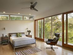 mid century modern decorating ideas | Bedroom Design in Mid Century Modern House Design in Conshohocken ...