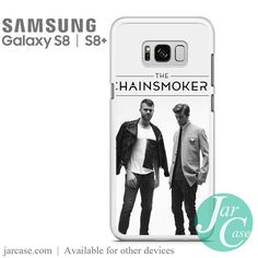 The Chainsmokers 4 Phone Case for Samsung Galaxy & Plus Galaxy S8, Samsung Galaxy, Chainsmokers, S8 Plus, Heat Transfer, Slim, Phone Cases, Music, Musica
