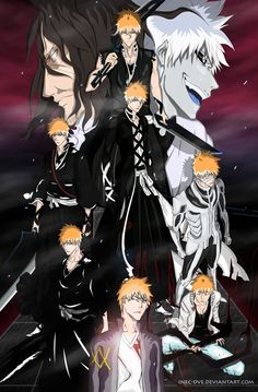 Post with 10206 views. Evolution Of Kurosaki Ichigo Bleach Manga, Bleach Fanart, Ichigo Y Rukia, Rukia Bleach, Shinigami, I Love Anime, Awesome Anime, Manga Anime, Bleach Characters