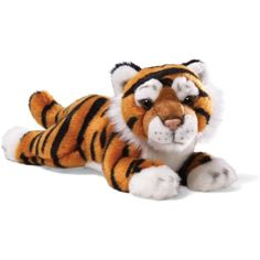 "Gund Brown Tiger Small 11"" Plush *** Click image for more details. (This is an affiliate link) #Puppets"