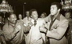 Robinson, Leonard and Ali in Black and White - Codeblack Icons
