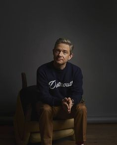 Famous for his roles in The Office, The Hobbit and Fargo, the actor talks about 'drawing on truth' and playing Dr Watson Sherlock Bbc, Watson Sherlock, Sherlock Quotes, Jim Moriarty, Martin Freeman, Benedict Cumberbatch, Fanfiction, Playing Doctor, Benedict And Martin