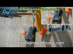 AUTO LOCK CABLE LIFTER AUSAVINA for Stone, Glass industries, tools, lift...