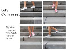 Chuck Taylor are a classic! White Converse, Better Love, Chuck Taylors, About Me Blog, Posts, Classic, Derby, Messages, Classical Music