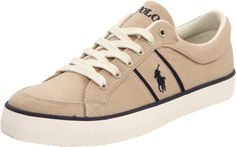 Polo Ralph Lauren Men's Bolingbrook Canvas Sneaker Khaki 9 by Polo Ralph Lauren, http://www.amazon.ca/dp/B00668931M/ref=cm_sw_r_pi_dp_4c0mtb1F14RVD