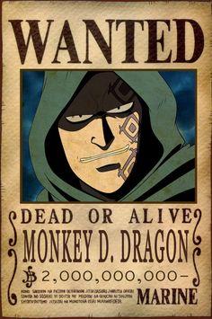 Monky D. Dragon - one piece Otaku Anime, Anime Echii, Anime Comics, Anime Love, One Piece Comic, One Piece Anime, Cosplay One Piece, One Piece Theories, One Piece Bounties