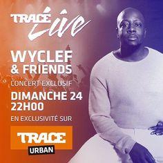 Concert exclusif de @wyclefjean & friends à retrouver dimanche 24 septembre à 22h sur TRACE Urban @talofficial @nelsonfreitas @benjnegmarrons @pixl.artist @nixofficial @kassav_official @jackynegmarrons @fababyofficiel @fuseodg #tracelivewyclef #trace #tracetv #traceurban #live #concert #livestream #musique #music #event #show #livemusic #tv #musictelevision  @laplacehiphop