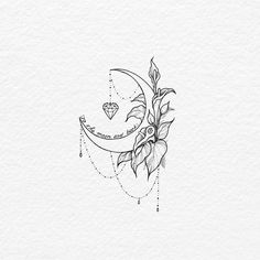 like the moon but change the flowers - today pin - like the moon but change . - like the moon but change the flowers – today pin – like the moon but change the flowers – – - Form Tattoo, Shape Tattoo, Diy Tattoo, Tattoo Ideas, Color Tattoo, Cute Tattoos, Body Art Tattoos, Small Tattoos, Sleeve Tattoos