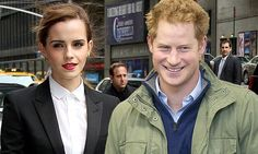 2/21/15.   Prince Harry is said to be 'smitten' with actress Emma Watson after the unlikely pair went on a secret date, according to a report in an Australian magazine.