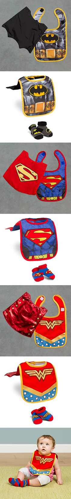 Superhero Infant Bib and Booties Sets