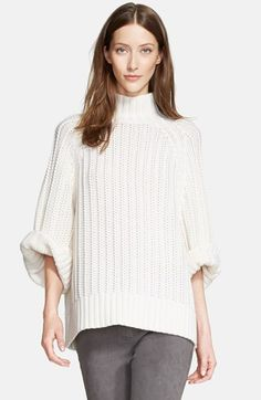 Michael Kors Chunky Knit Cotton Cashmere Sweater available at #Nordstrom