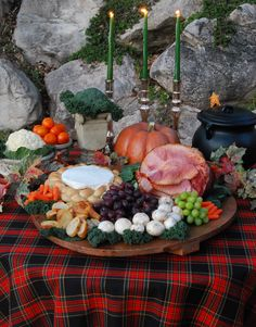 Highland Halloween-themed party