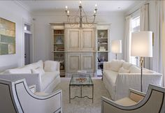 "#PaintColor The walls and trim are ""Benjamin Moore OC 17 White Dove"""