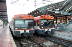 Dos UT-470 de Renfe en Valladolid