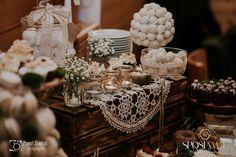 Wedding Table Dessert, Rusttic Table wedding Wedding Gold, Table Wedding, Castle, Table Decorations, Green, Nature, Desserts, Home Decor, Tailgate Desserts