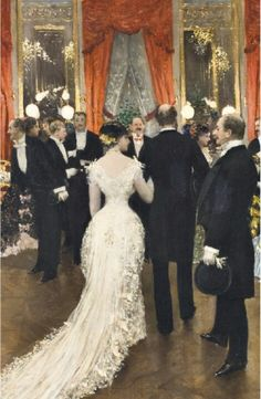A Party - Jean Beraud, 1878