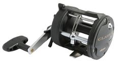 Okuma Fishing CL-302L-CL Classic Pro Graphite Trolling Reel Clam Pack (Small, Black) -- Want additional info? Click on the image.