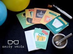 Nerdy Words: Birthday Cards for Science Geeks's video poster