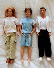 Lot of 3 dolls Barbie KEN (Mattel), Disney and Paul (Hasbro)