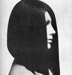 Coiffure by Vidal Sassoon, photo by Guy Bourdin, Vogue UK, March 1966 -