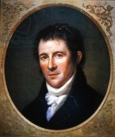 Benjamin Henry Latrobe, by Charles Willson Peale, American. c.1804 Private Collection