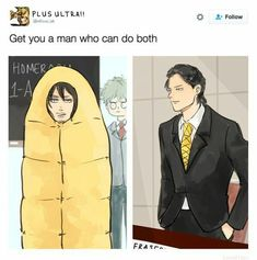 These are the funniest and newest anime memes ever created. Anime memes, like most memes, make that anime funny by adding their own ideas to the scene. Boku No Academia, My Hero Academia Memes, Hero Academia Characters, My Hero Academia Manga, Boku No Hero Academia Funny, Eraserhead Boku No Hero, My Hero Academia Eraserhead, Shouta Aizawa, Anime Lindo