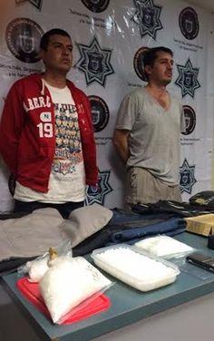 Transportaban chalecos antibalas, droga y balas