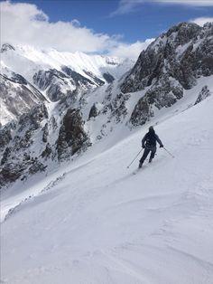 feeling it out. Ski Touring, Alps, Mount Everest, Skiing, Tours, Mountains, Nature, Travel, Ski