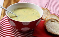 Sajtos kukorica-krémleves Cheeseburger Chowder, Fondue, Soups, Ethnic Recipes, Soup