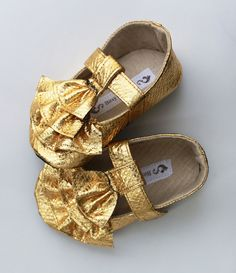 Baby Shoes - Soft Soled- Goldielocks-Size 1-4. $30.00, via Etsy.  @Meagan Sabatino !!!