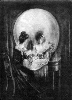 illusn.com: Best Ever Optical Illusns: A Beautiful lady or a Beautiful Skull ?